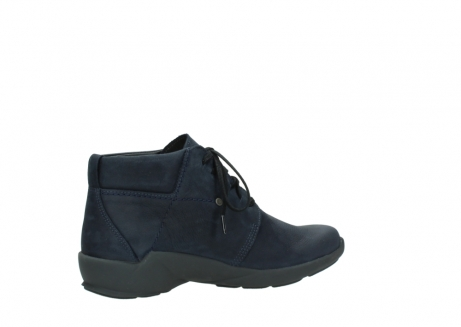wolky chaussures a lacets 01571 jaca 11802 nubuck bleu_11