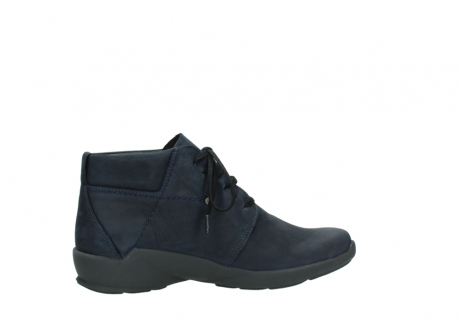 wolky chaussures a lacets 01571 jaca 11802 nubuck bleu_12