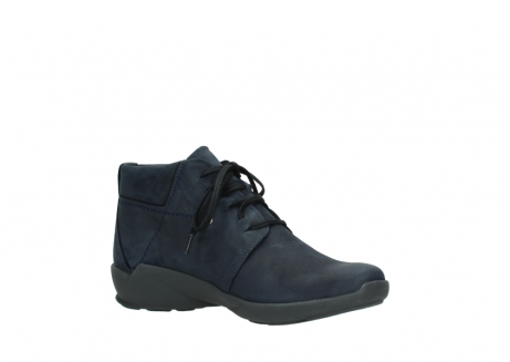wolky chaussures a lacets 01571 jaca 11802 nubuck bleu_15