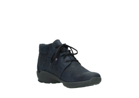 wolky chaussures a lacets 01571 jaca 11802 nubuck bleu_16
