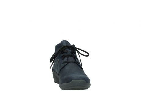 wolky chaussures a lacets 01571 jaca 11802 nubuck bleu_18