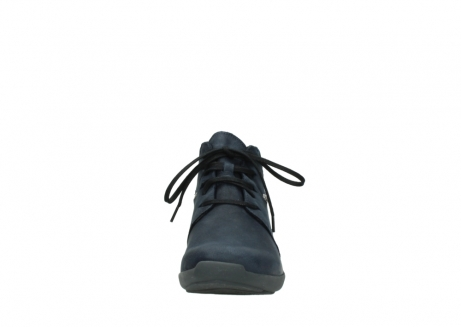wolky chaussures a lacets 01571 jaca 11802 nubuck bleu_19