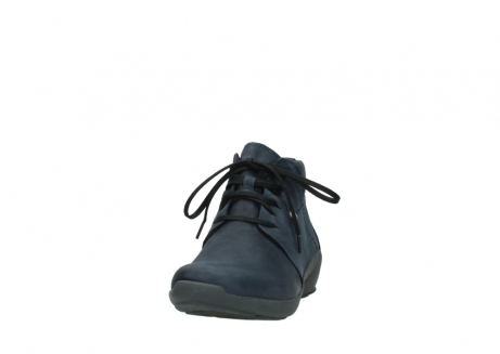 wolky chaussures a lacets 01571 jaca 11802 nubuck bleu_20