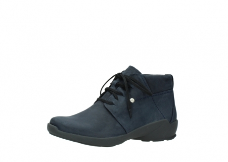 wolky chaussures a lacets 01571 jaca 11802 nubuck bleu_23