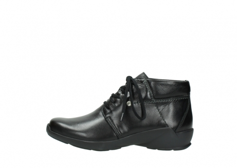 wolky lace up shoes 01571 jaca 30001 black leather_1