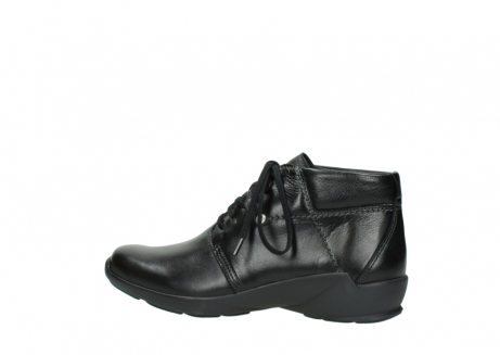 wolky lace up shoes 01571 jaca 30001 black leather_2
