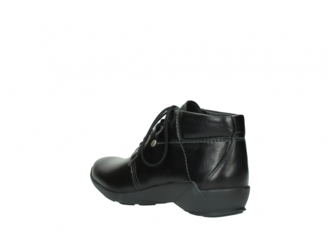 wolky lace up shoes 01571 jaca 30001 black leather_4