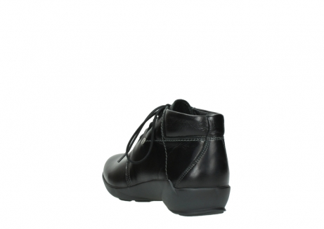 wolky lace up shoes 01571 jaca 30001 black leather_5