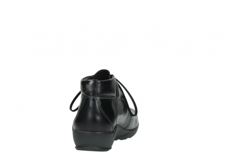 wolky lace up shoes 01571 jaca 30001 black leather_8