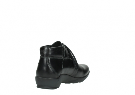 wolky lace up shoes 01571 jaca 30001 black leather_9