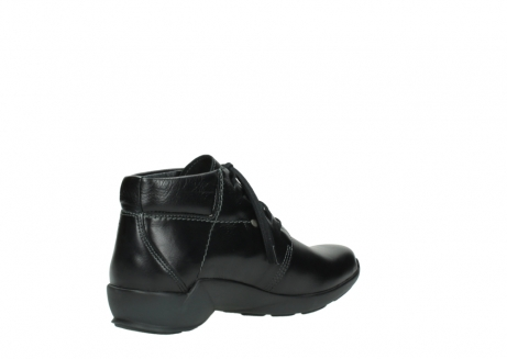 wolky lace up shoes 01571 jaca 30001 black leather_10