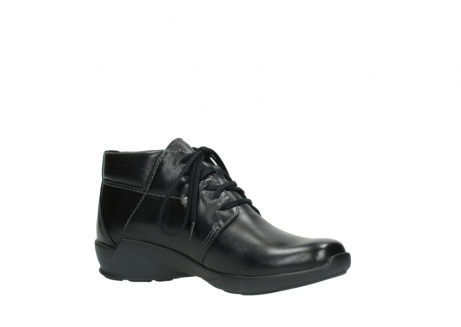 wolky lace up shoes 01571 jaca 30001 black leather_15