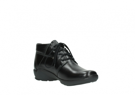 wolky lace up shoes 01571 jaca 30001 black leather_16