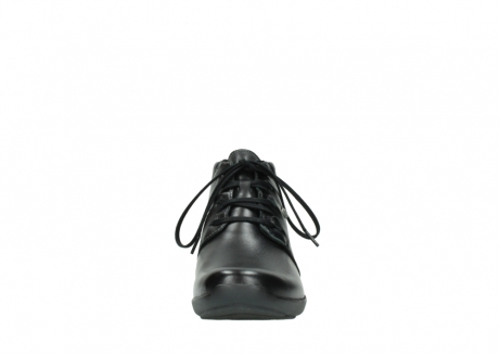 wolky lace up shoes 01571 jaca 30001 black leather_19