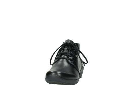 wolky lace up shoes 01571 jaca 30001 black leather_20