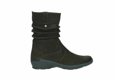 wolky mid calf boots 01572 luna 11302 brown nubuck_1