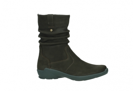 wolky mid calf boots 01572 luna 11302 brown nubuck_2