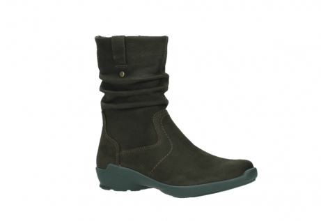 wolky mid calf boots 01572 luna 11302 brown nubuck_3