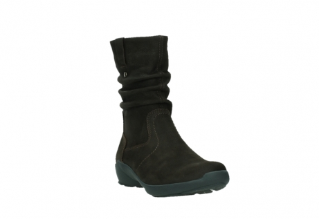 wolky mid calf boots 01572 luna 11302 brown nubuck_5