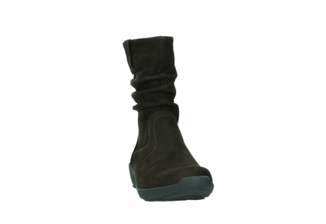 wolky mid calf boots 01572 luna 11302 brown nubuck_6