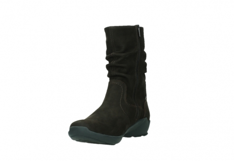 wolky mid calf boots 01572 luna 11302 brown nubuck_9