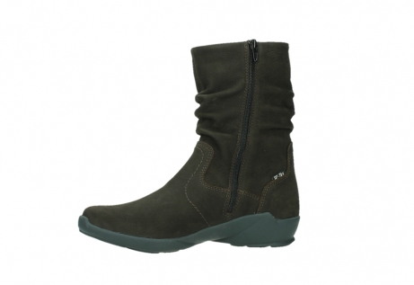 wolky mid calf boots 01572 luna 11302 brown nubuck_12