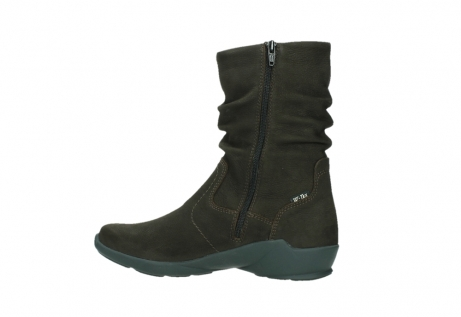 wolky mid calf boots 01572 luna 11302 brown nubuck_14