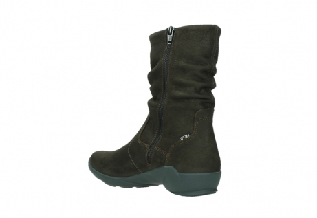 wolky mid calf boots 01572 luna 11302 brown nubuck_16