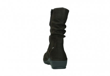 wolky mid calf boots 01572 luna 11302 brown nubuck_18