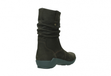 wolky mid calf boots 01572 luna 11302 brown nubuck_21