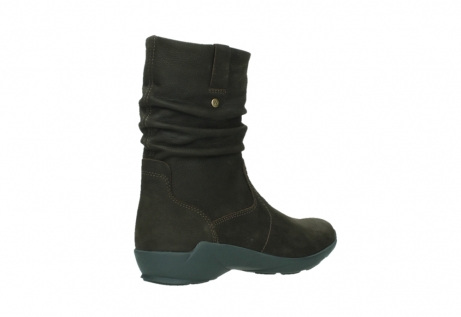 wolky mid calf boots 01572 luna 11302 brown nubuck_22