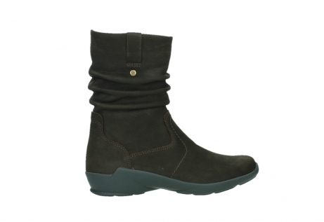 wolky mid calf boots 01572 luna 11302 brown nubuck_24