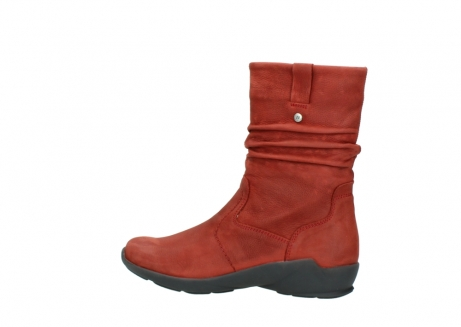 wolky mid calf boots 01572 luna 11542 winter red nubuck_2