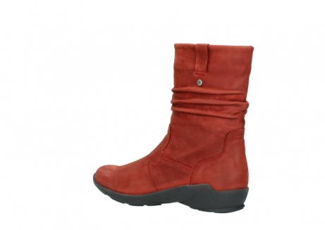 wolky mid calf boots 01572 luna 11542 winter red nubuck_3