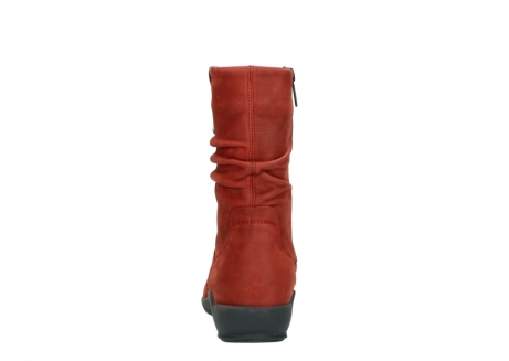 wolky mid calf boots 01572 luna 11542 winter red nubuck_7