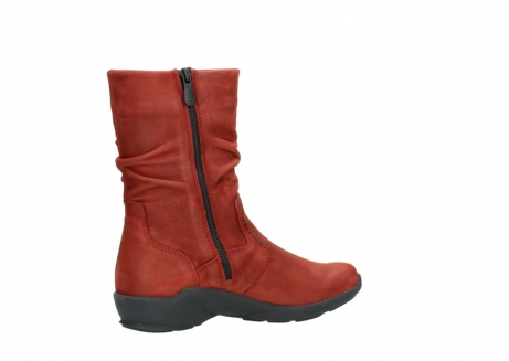 wolky mid calf boots 01572 luna 11542 winter red nubuck_11