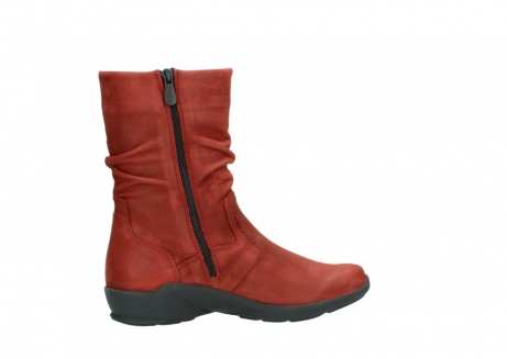 wolky mid calf boots 01572 luna 11542 winter red nubuck_12