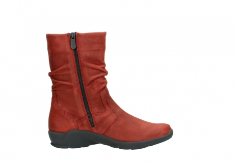 wolky mid calf boots 01572 luna 11542 winter red nubuck_13