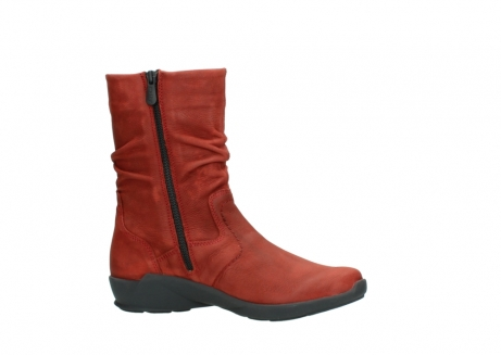 wolky mid calf boots 01572 luna 11542 winter red nubuck_14