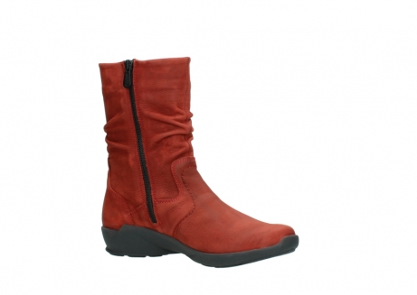 wolky mid calf boots 01572 luna 11542 winter red nubuck_15