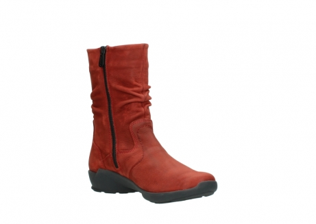 wolky mid calf boots 01572 luna 11542 winter red nubuck_16