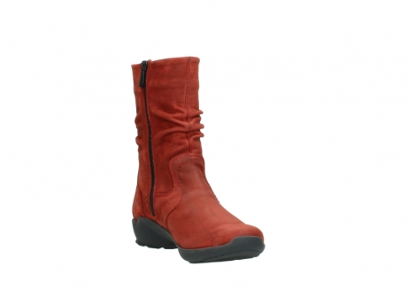 wolky mid calf boots 01572 luna 11542 winter red nubuck_17
