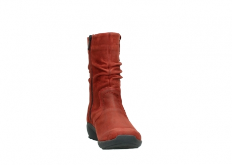 wolky mid calf boots 01572 luna 11542 winter red nubuck_18