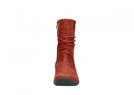 wolky mid calf boots 01572 luna 11542 winter red nubuck_19