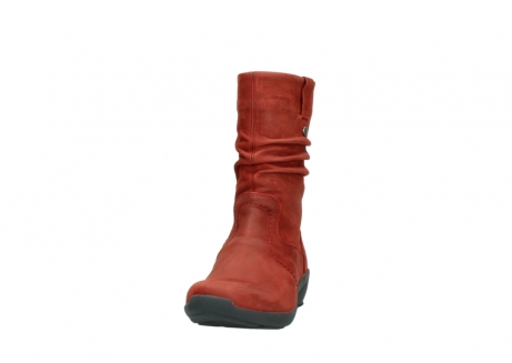 wolky mid calf boots 01572 luna 11542 winter red nubuck_20