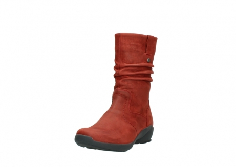 wolky mid calf boots 01572 luna 11542 winter red nubuck_21