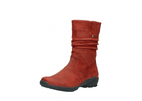 wolky mid calf boots 01572 luna 11542 winter red nubuck_22