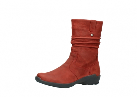 wolky mid calf boots 01572 luna 11542 winter red nubuck_23