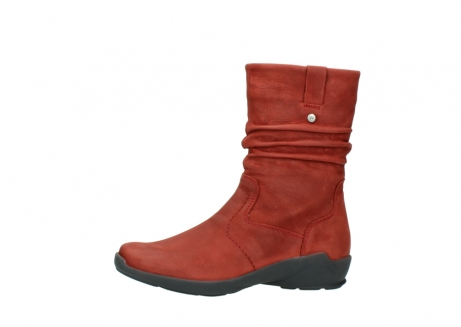 wolky mid calf boots 01572 luna 11542 winter red nubuck_24