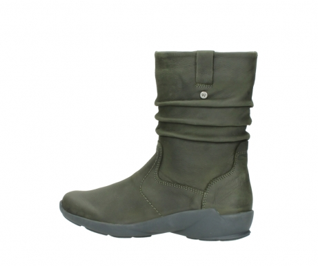 wolky mid calf boots 01572 luna 11732 forestgreen oiled nubuck_2